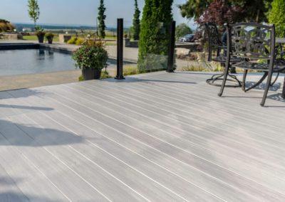 Terrasse Mcmel Europe aluminium